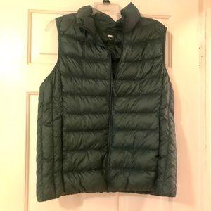 Puffer vest.